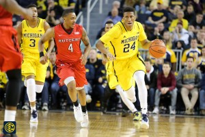 Michigan 79, Rutgers 69 -15