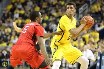 Michigan 79, Rutgers 69 -17