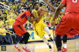 Michigan 79, Rutgers 69 -28