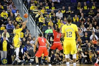 Michigan 79, Rutgers 69 -5