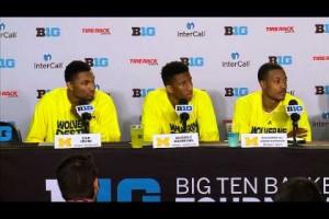 Michigan Illinois Big Ten Tournament Post Game Press Conference