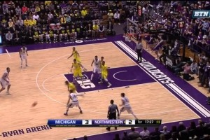 Northwestern 5 Key Plays