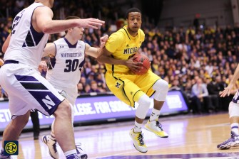 Northwestern 82, Michigan 78-11