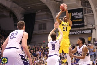Northwestern 82, Michigan 78-12