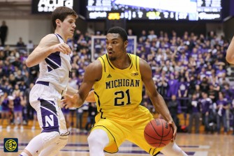 Northwestern 82, Michigan 78-13