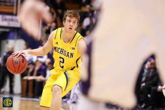 Northwestern 82, Michigan 78-14