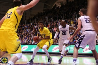 Northwestern 82, Michigan 78-15