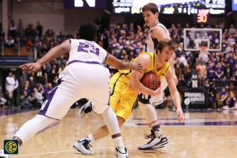 Northwestern 82, Michigan 78-20