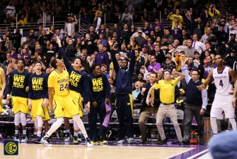 Northwestern 82, Michigan 78-24