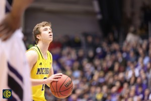 Northwestern 82, Michigan 78-25