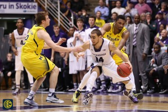 Northwestern 82, Michigan 78-28