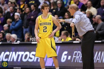 Northwestern 82, Michigan 78-30