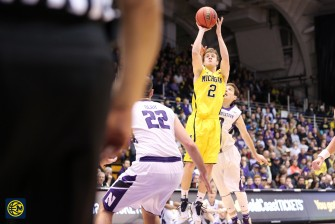 Northwestern 82, Michigan 78-4