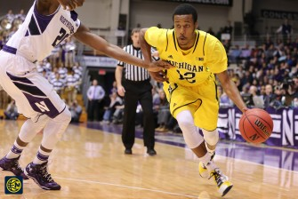 Northwestern 82, Michigan 78-6