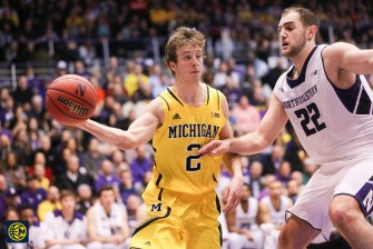 Northwestern 82, Michigan 78-9