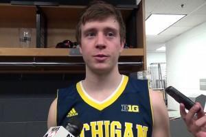 Spike Albrecht talks circus pass, blowout of Illinois