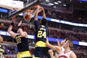 Wisconsin 71, Michigan 60 -17