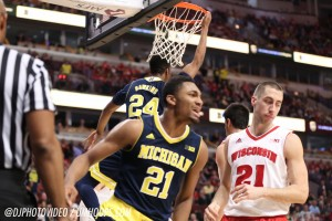 Wisconsin 71, Michigan 60 -18