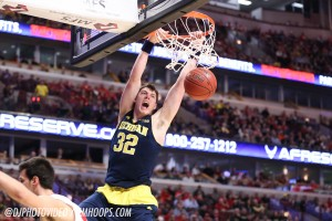 Wisconsin 71, Michigan 60 -23