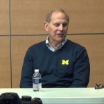 Video: John Beilein talks Caris LeVert's return, 2015-16 roster
