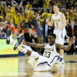 Video: Caris LeVert says 'my heart was here at Michigan'