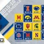 2015-16 Michigan basketball schedule finalized with Big Ten announcement