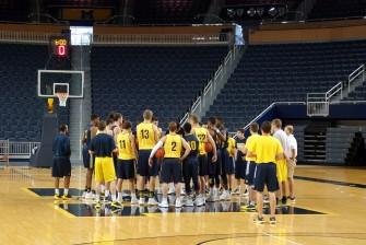 Michigan First Practice 2015-16 - #1