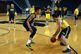 Michigan First Practice 2015-16 - #10