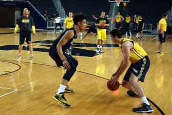Michigan First Practice 2015-16 - #10