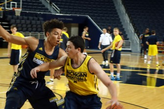Michigan First Practice 2015-16 - #11