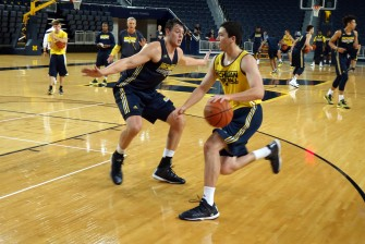 Michigan First Practice 2015-16 - #13