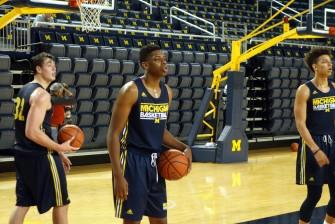 Michigan First Practice 2015-16 - #15
