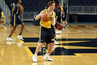 Michigan First Practice 2015-16 - #3