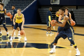 Michigan First Practice 2015-16 - #4
