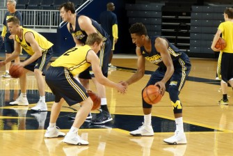 Michigan First Practice 2015-16 - #6