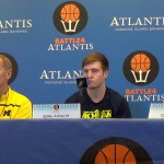 Video: John Beilein, Caris LeVert and Spike Albrecht preview Battle 4 Atlantis