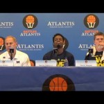 Video: John Beilein, Moritz Wagner and Derrick Walton after Charlotte
