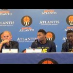 Video: John Beilein, Caris LeVert, Zak Irvin react to UConn loss