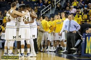 Michigan 74, Le Moyne 52-3