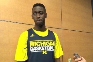 Video: John Beilein, Caris LeVert and Moe Wagner discuss the Bahamas, N.C. State