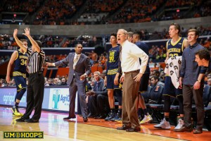 Michigan 78, Illinois 68-19