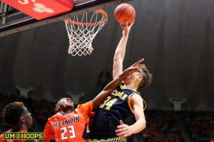 Michigan 78, Illinois 68-25