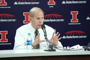 Michigan-at-Illinois-Presser-Coach-Beilein