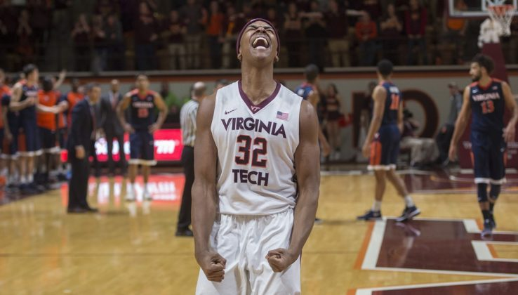 Virginia Tech rallies for 73-70 win over MI