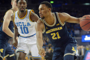 NCAA Basketball: Michigan at UCLA